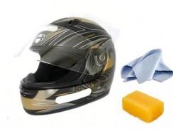 How to clean a motorcycle helmet?