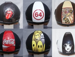 How to customize your motorcycle helmet?